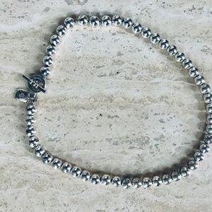 Ralph LaurenSilver-Tone Metal Bead (8 mm) Necklace